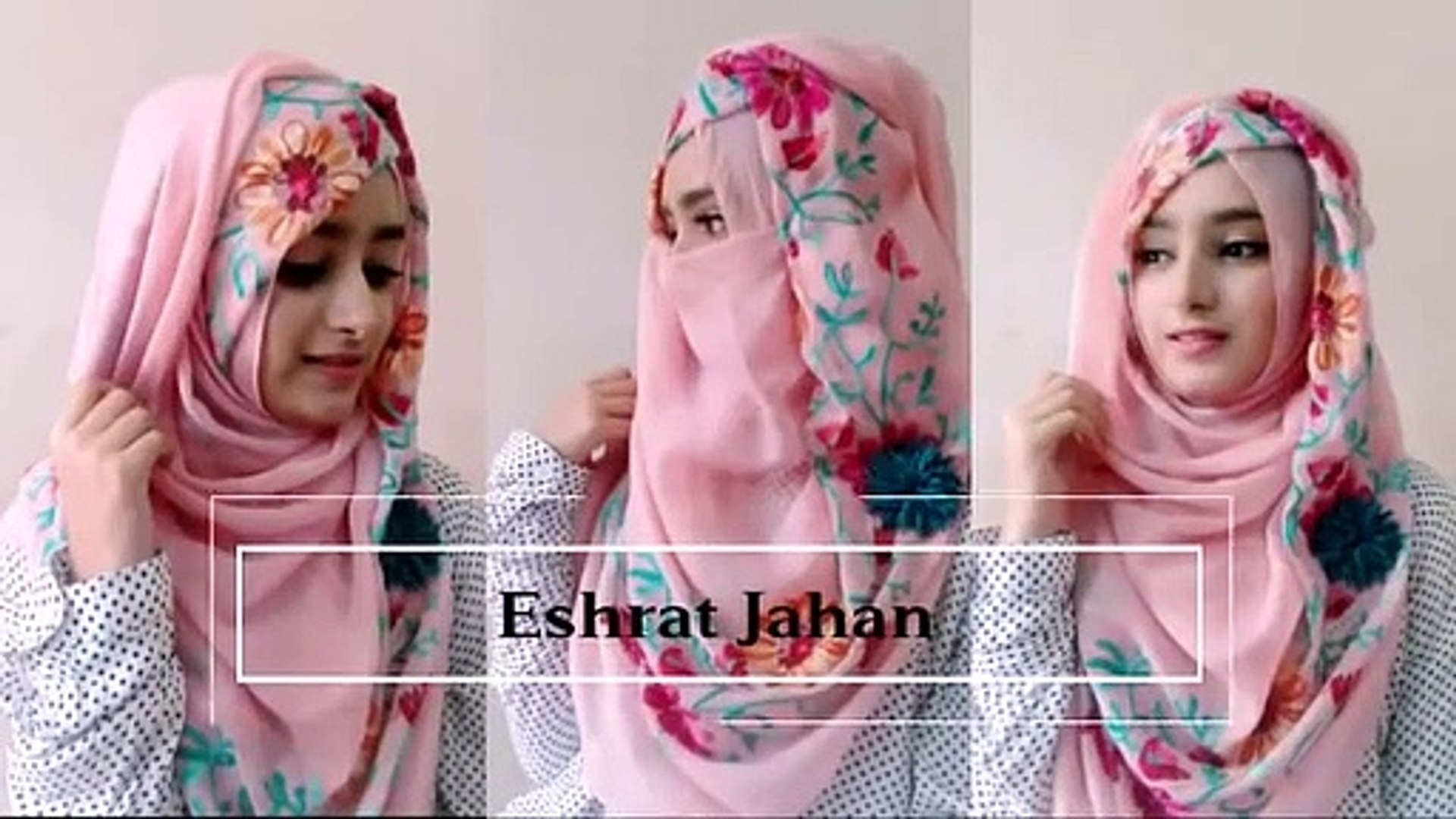 How To Wear Hijab Niqab Without Inner Cap Easy Hijab Tutorial