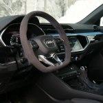 Audi Rs Q3 Sportback Interior Design In Turbo Blue Video Dailymotion
