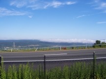 Morning fog lifting near Port Jervis, NY.