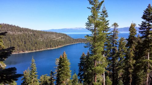 Lake Tahoe's Emerald Bay