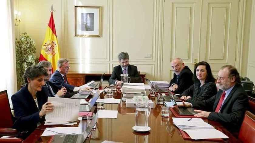 Reunión de la Comisión Permanente del CGPJ