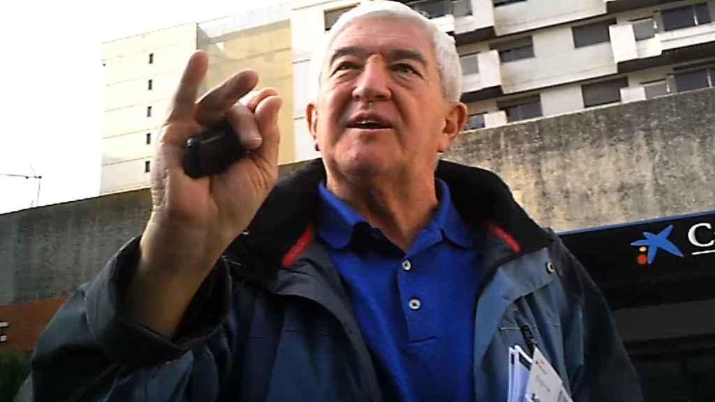 Rodolfo Wagner paseando por las calles de Madrid.