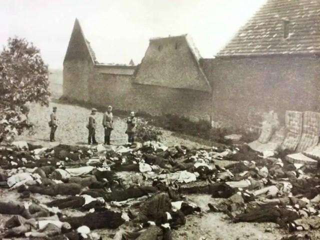 La masacre de Lídice es uno de los hitos de la II Guerra Mundial.