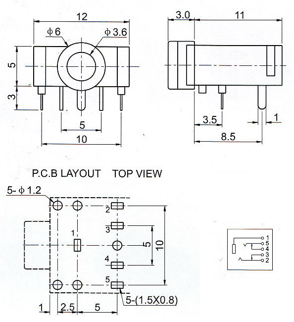 3F07 Double Sound Channel 3.5 Audio Jack?resize=594%2C650 3 5mm stereo jack wiring diagram photograph album circuit,Wiring Diagram For Agility Ke Controller
