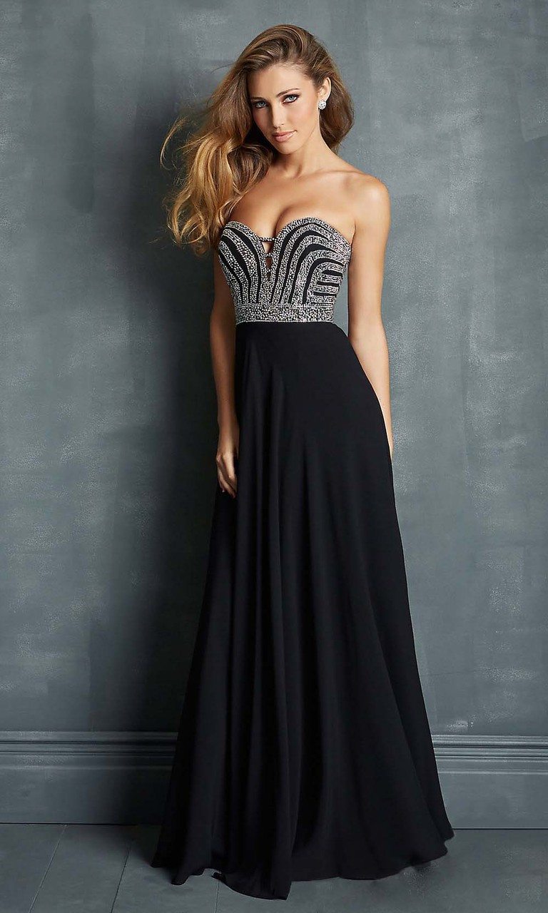 Dress Back Long Black