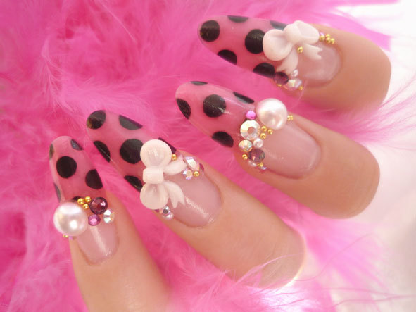Cute Fashion Nailart Nails Photography Pucca Sweet