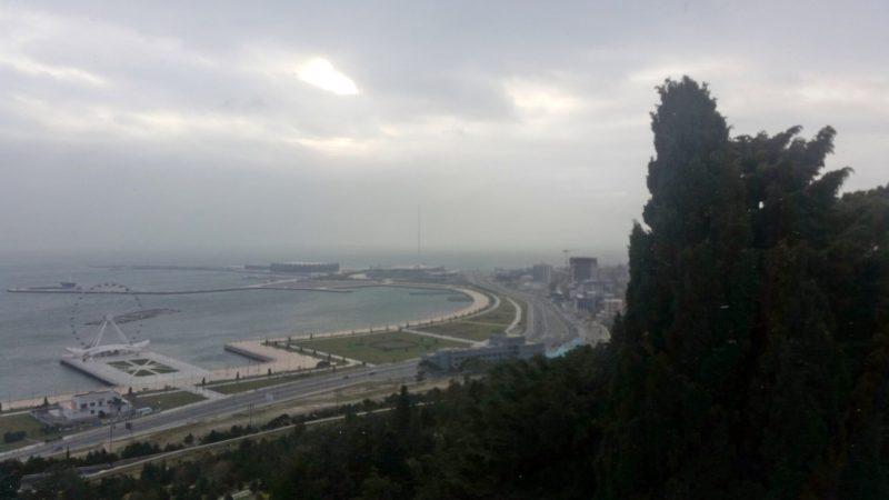 Баку зимой за один день, что посмотреть