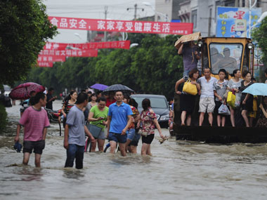 Image result for Heavy rains in China flood