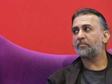Tehelka editor-in-chief Tarun Tejpal. AFP