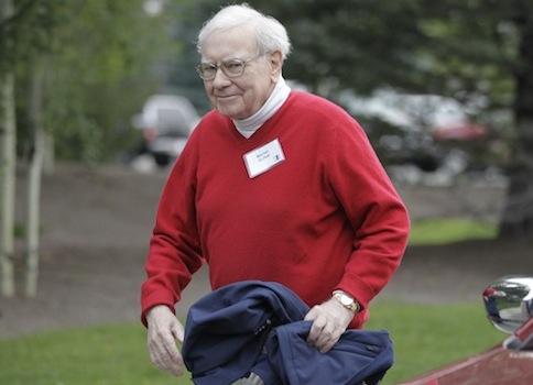 Warren Buffet / AP