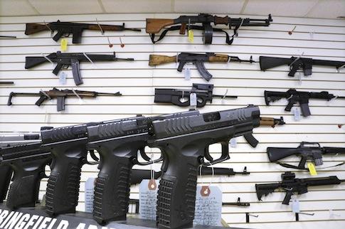 Guns on sale / AP