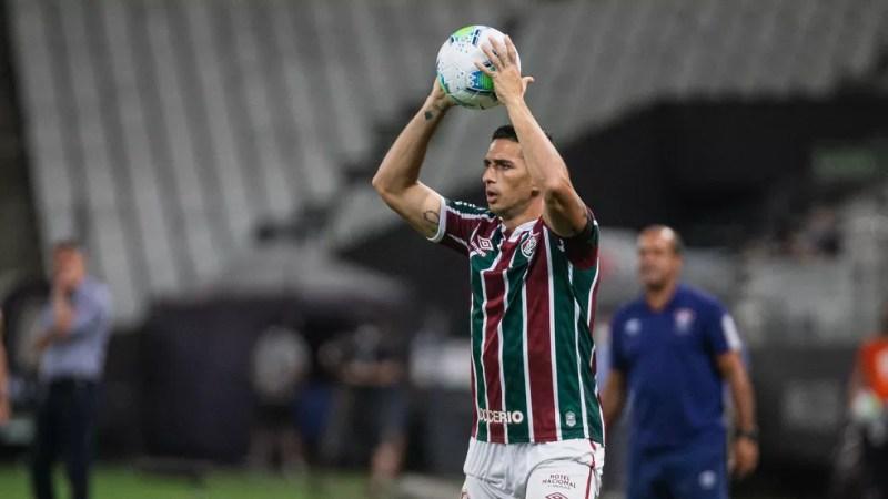 Danilo Barcelos, Fluminense — Foto: LUCAS MERÇON / FLUMINENSE F.C.