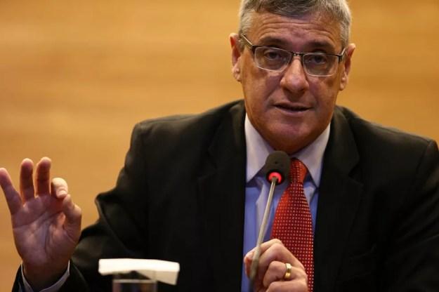 Coronel Marinho falou como GloboEsporte.com (Foto: Lucas Figueiredo/CBF)