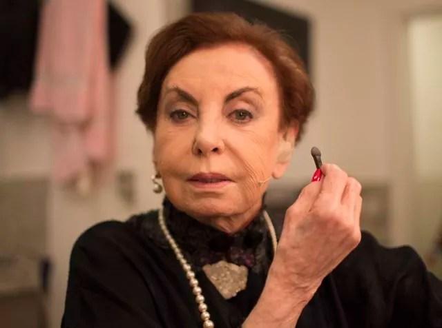 A atriz Beatriz Segall, de 92 anos, morreu de pneumonia (Foto: Guilherme Zauith)