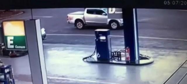 O motorista, um empresário de 34 anos, foi preso em flagrante, suspeito de homicídio qualificado.  (Foto: Reprodução/RPC)