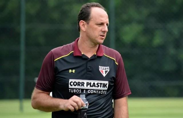 Rogério Ceni treino São Paulo (Foto: Érico Leonan / saopaulofc.net)