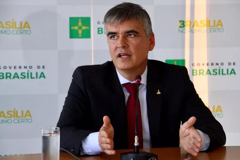 Sérgio Sampaio, secretário da Casa Civil do GDF (Foto: Letícia Carvalho/G1)