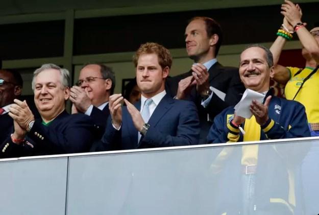 Príncipe Harry na Copa