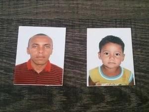 Pai e filho serão sepultados em cidades diferentes em Sergipe (Foto: Marina Fontenele/G1)