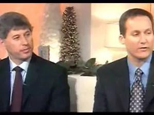 Pilotos Joseph Lepore e Jan Paul Paladino estavam no jato Legacy (Foto: Reprodução/TV Globo)