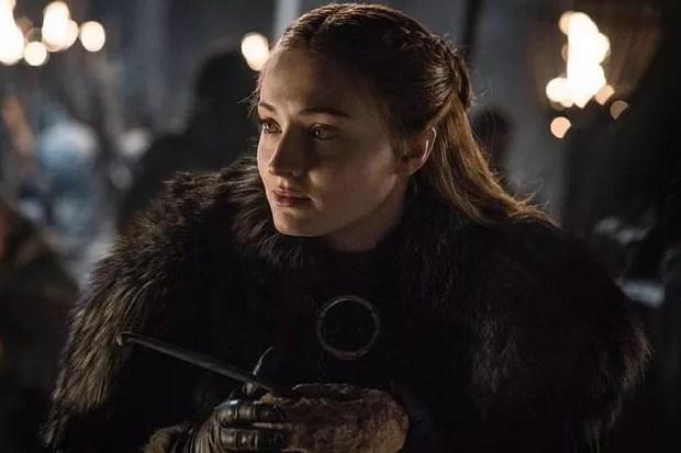 Sophie Turner, a Sansa Stark em Game of Thrones (Foto: Dilvulgação/HBO)