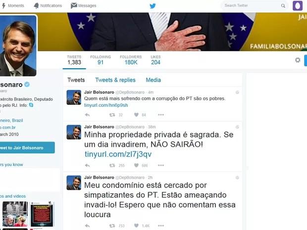 Deputado se pronunciou em rede social (Foto: Reprodução/Twitter)