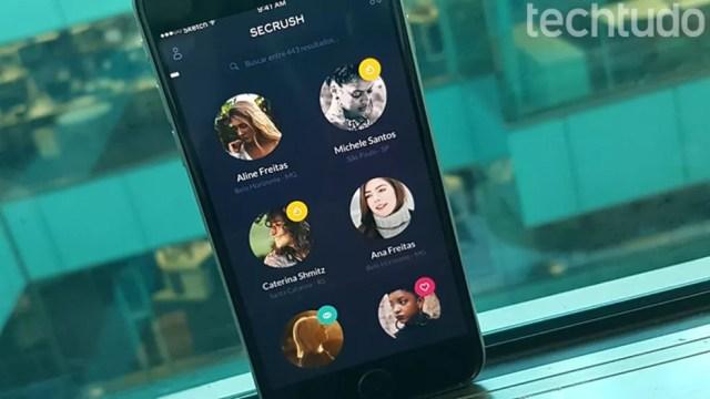 App Secrush estimula ''match'' entre amigos do Facebook (Foto: Gabrielle Lancellotti/TechTudo)