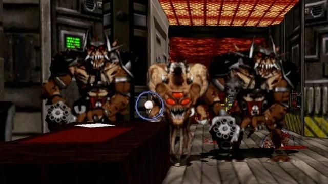 Duke Nukem 3D reunia violência, humor escatológico e objetificação de mulheres (Foto: Reprodução/YouTube)