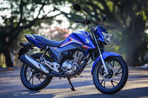 Motos mais vendidas março 2018