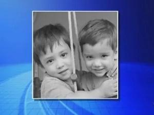 Pai que matou filhos mandou vídeo do crime para a família, diz esposa (Foto: Reprodução/TV TEM)