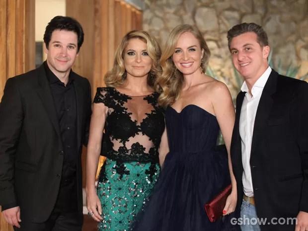 Angélica e Luciano Huck participam de Geração Brasil (Foto: Camila Camacho / TV Globo)