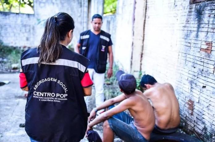 No Centro Pop, moradores de rua podem lavar roupa e cuidar da higiene pessoal  (Foto: Assis Lima/Asscom Prefeitura Rio Branco)