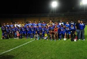 Formação campeã do Campeonato Maranhense do Maranhão Atlético Clube (Foto: Biaman Prado)