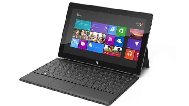 O tablet Microsoft Surface (Foto: Divulgação)