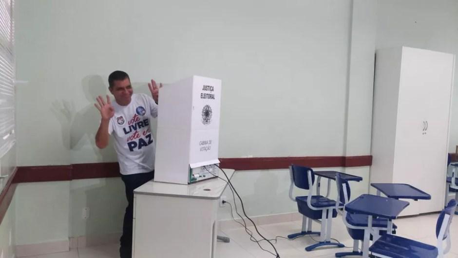 Carlos Amastha Eleições 2018 - Tocantins — Foto: Jesana de Jesus/TV Anhanguera