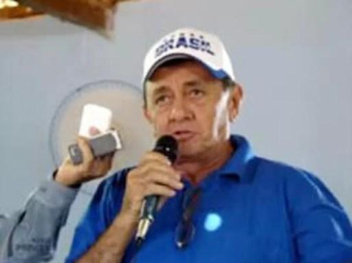 Manoel Botinha foi alvo de vários disparos de arma de fogo (Foto: Focoelho)