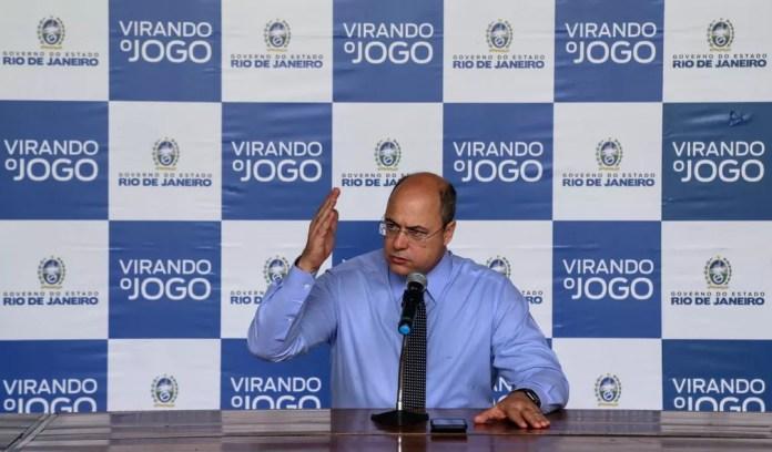 Witzel — Foto: Divulgação/Governo RJ