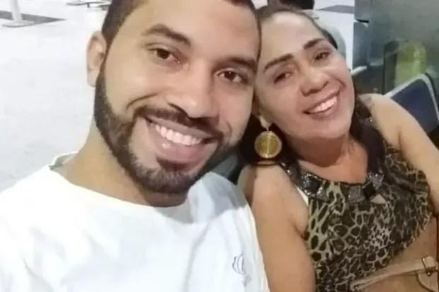 Gilberto e a mãe, Jacira (Foto: Reprodução/Instagram)