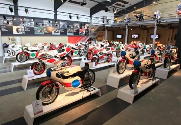 Mostra possui 60 motos da Yamaha (Foto: Divulgação)