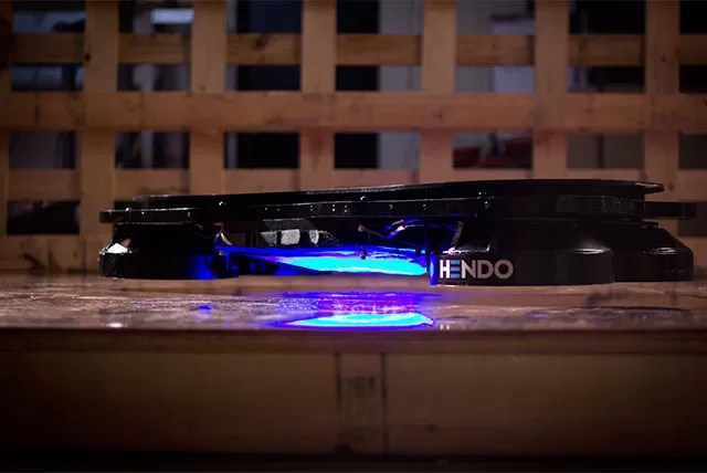 ímãs fazem com que skate levite a 2,5 centímetros do chão (Foto: Divulgação)