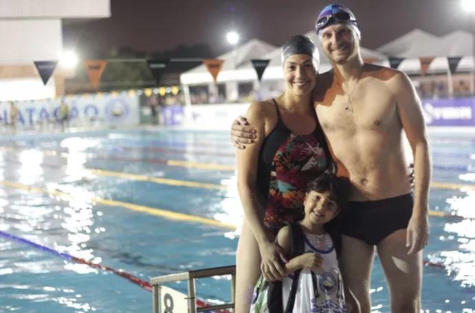 Maurício e Fabiana (Foto: Osmar Rios / GloboEsporte.com)