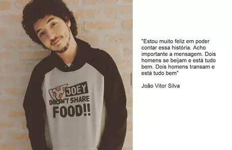 João Vitor Silva will return to live Bruno, who this time will have a romance with another man Reproduction