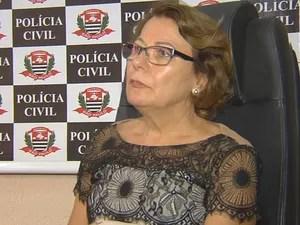 Delegada da Mulher, Dálice Ceron (Foto: Reprodução/TV TEM)
