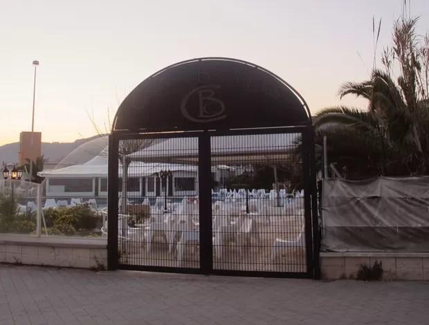 Casa Nova Beach Club (onde R10 fazia festas) (Foto: Carlos Mota / Globoesporte.com)