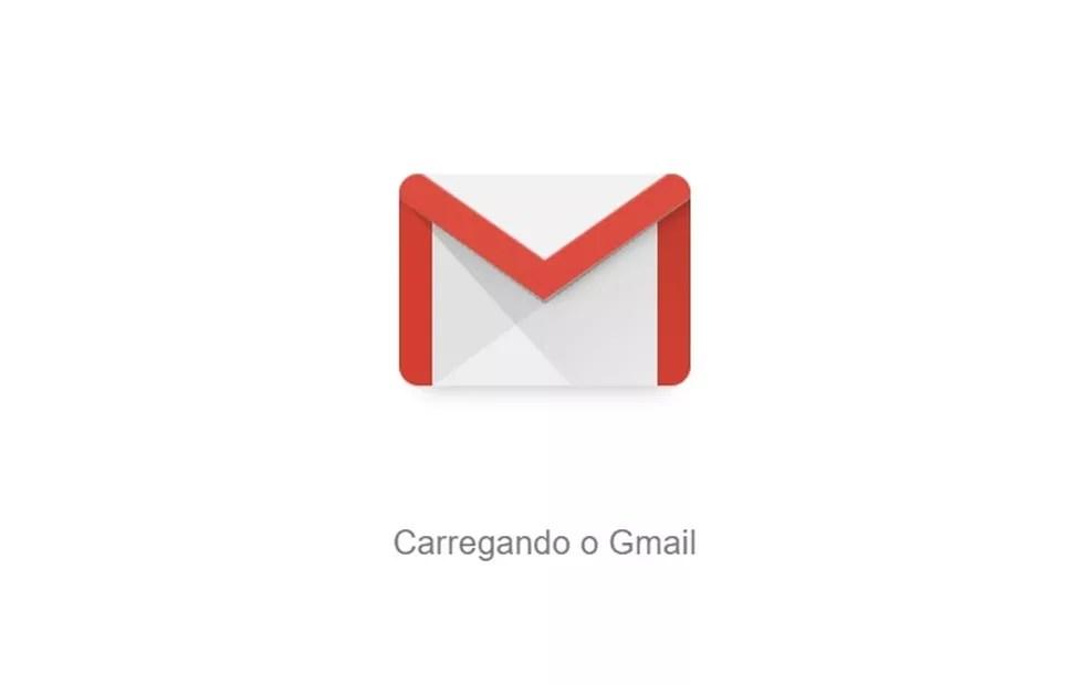 Logotipo antigo do Gmail — Foto: Google/Reprodução