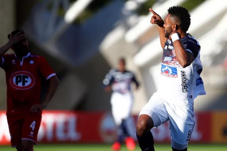 Borja anotou 20 gols em 36 partidas pelo Junior Barranquilla em 2020 — Foto: Esteban Garay/EFE