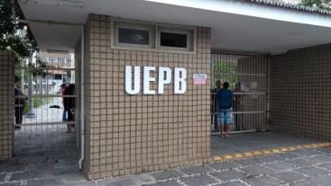 Universidade Estadual da Paraíba, em Campina Grande — Foto: João Paulo/TV Paraíba