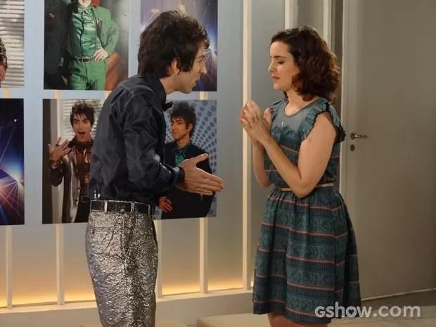 Lara se declara para Shin (Foto: Geração Brasil / TV Globo)