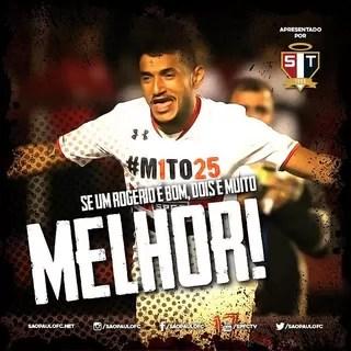 Rogério São Paulo Instagram (Foto: Reprodução/Instagram)