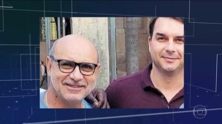 Fabrício Queiroz era assessor de Flávio Bolsonaro — Foto: Reprodução/JN